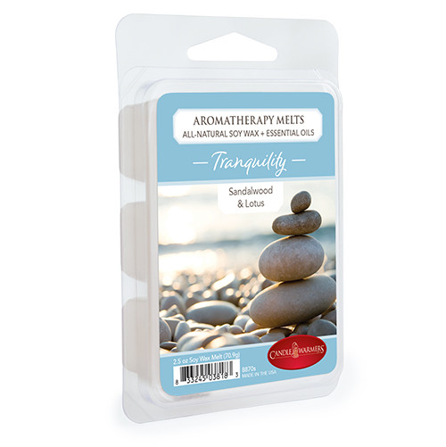 Tranquility (Sandalwood & Lotus) Aromatherapy Wax Melt by Candle Warmers