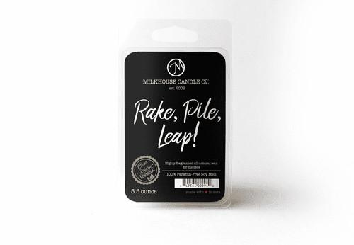 Rake, Pile, Leap! 5.5 oz. Fragrance Melt by Milkhouse Candle Creamery