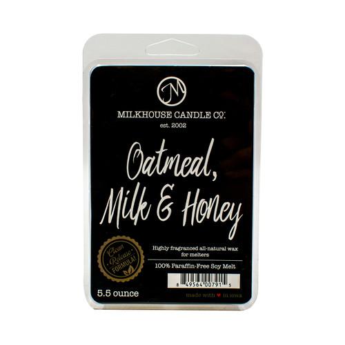 Oatmeal, Milk & Honey 5.5 oz. Fragrance Melt by Milkhouse Candle Creamery