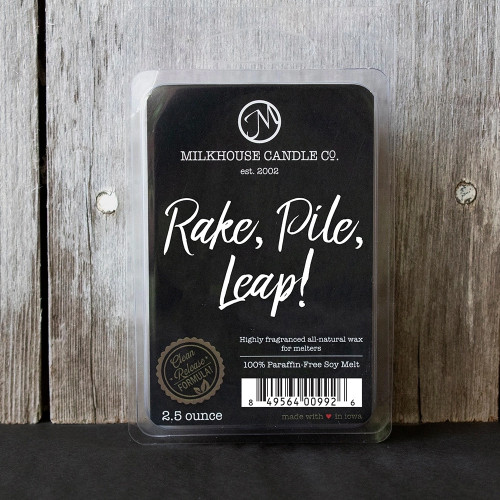 Rake, Pile, Leap! Fragrance Melt by Milkhouse Candle Creamery