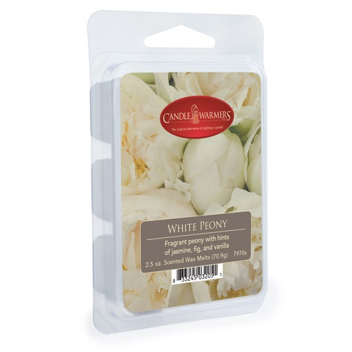 White Peony Classic Wax Melt by Candle Warmers