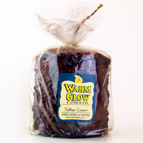 Toffee Cream Hearth Candle by Warm Glow Candles