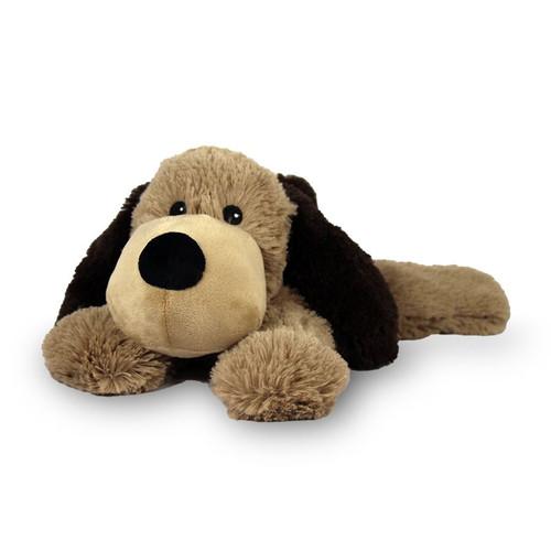 Warmies Heatable & Lavender Scented Brown Dog Stuffed Animal