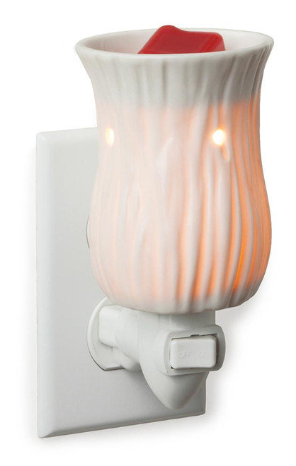 Porcelain Willow Plug In Fragrance Warmer