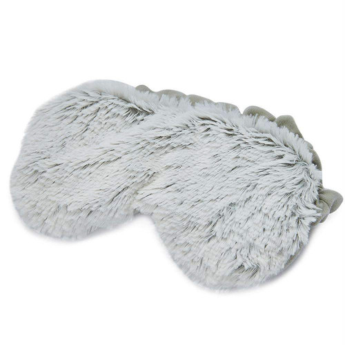 Warmies Heatable & Lavender Scented Gray Marshmallow Spa Eye Mask