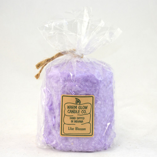 Lilac Blossom Hearth Candle by Warm Glow Candles