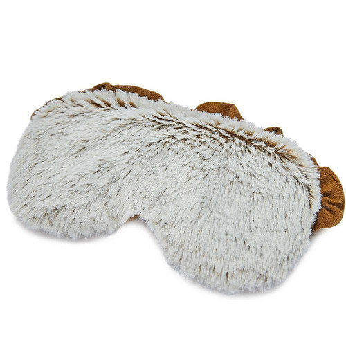 Warmies Heatable & Lavender Scented Brown Marshmallow Spa Eye Mask