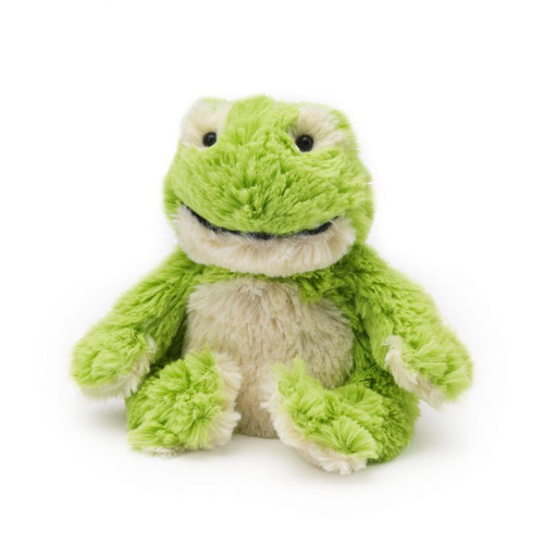Warmies Junior Heatable & Lavender Scented Frog Stuffed Animal