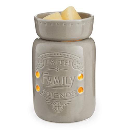 Faith,  Family,  Friends Midsize Illumination Fragrance Warmer