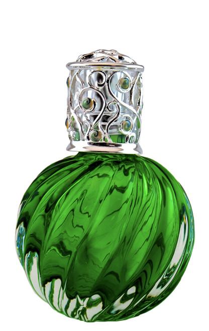 Green Swirl Ice Fragrance Lamp by Alexandrias-Bella Breeze