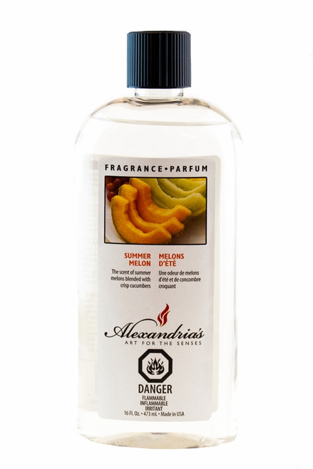 16 oz. Summer Melon Alexandria's Fragrance Lamp Oil