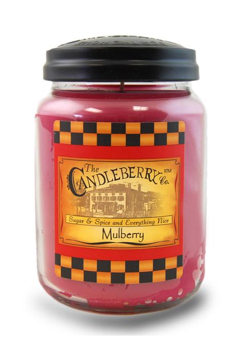 Mulberry 26 oz. Large Jar Candleberry Candle