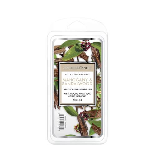 Mahogany & Sandalwood 2.75 oz. Classic  Wax Melts Colonial Candle