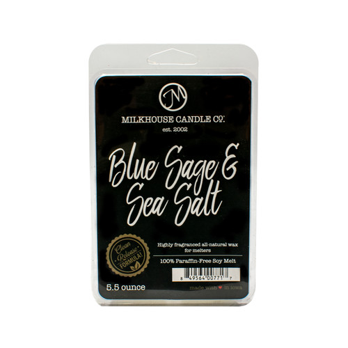 Blue Sage & Sea Salt 5.5 oz. Fragrance Melt by Milkhouse Candle Creamery