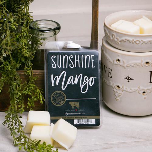Sunshine Mango Farmhouse Fragrance Melt by Milkhouse Candle Creamery