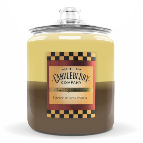Bourbon Roasted Pecans 160 oz. Cookie Jar Candleberry Candle