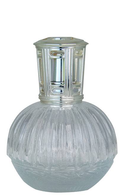 Round Crystal Ribbed Scentier Fragrance Lamp