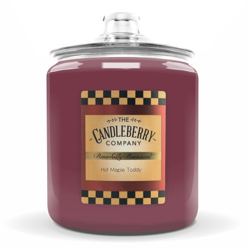 Hot Maple Toddy 160 oz. Cookie Jar Candleberry Candle