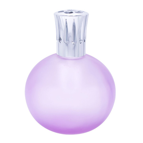 Frosted Pink Globe Fragrance Lamp by Sophia's