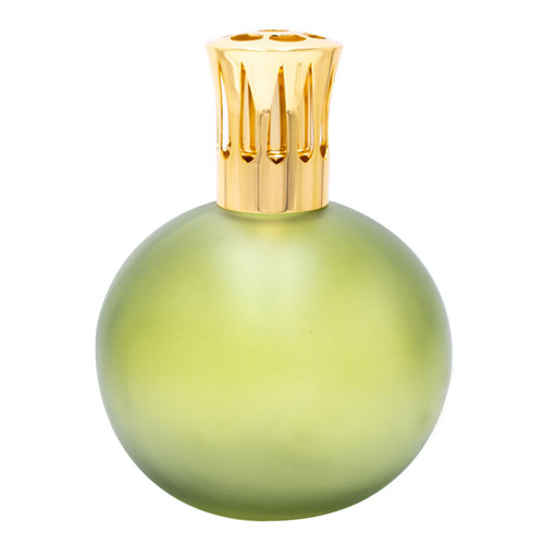 Frosted Green Globe Fragrance Lamp by Sophia's