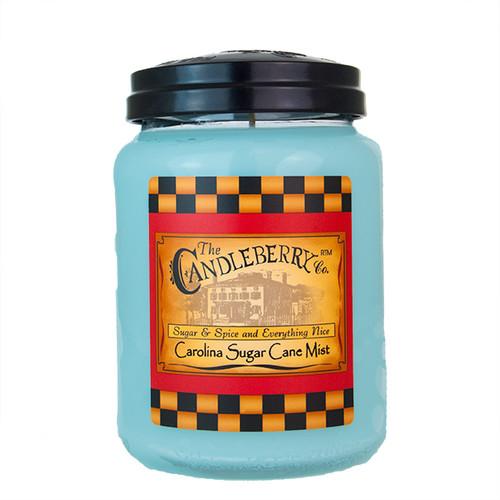 Carolina Sugar Cane 26 oz. Large Jar Candleberry Candle