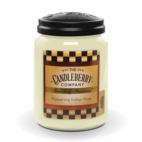 Flowering Indian Pine 26 oz. Large Jar Candleberry Candle