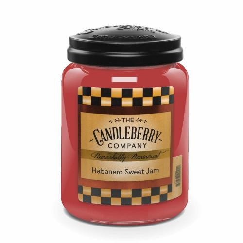 Habanero Sweet Jam  26 oz. Large Jar by Candleberry Candle