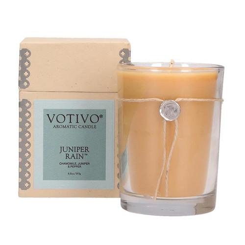 Juniper Rain 6.8 oz. Aromatic Candle Votivo Candle - Special Order