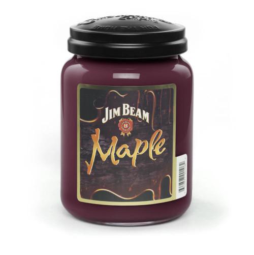 Jim Beam Maple 26 oz. Large Jar Candleberry Candle
