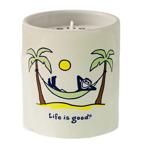 Falling Water, Sage, Driftwood Life is Good Premium Soy Candle by A Cheerful Giver