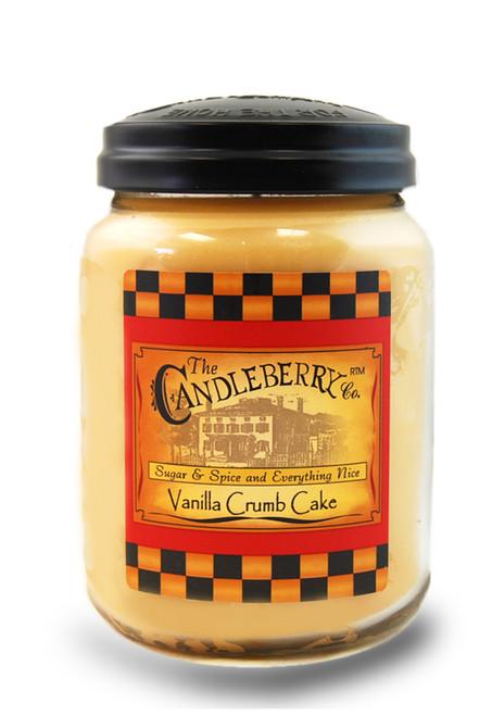 Vanilla Crumb Cake 26 oz. Large Jar Candleberry Candle