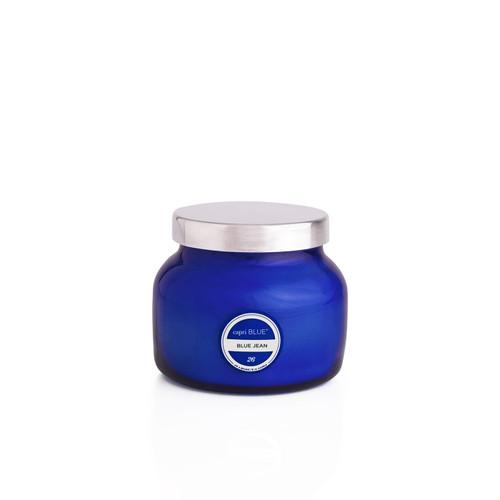 No. 26 Blue Jean 8 oz. Petite Signature Jar Candle by Capri Blue