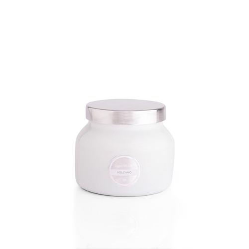 No. 6 Volcano 8 oz. White Petite Signature Jar Candle by Capri Blue