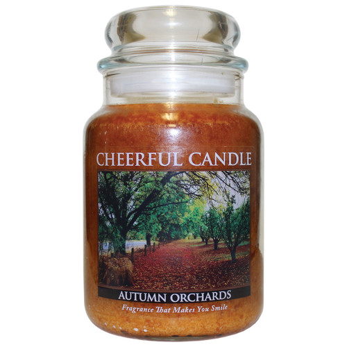 Autumn Orchards 24 oz. Cheerful Candle by A Cheerful Giver