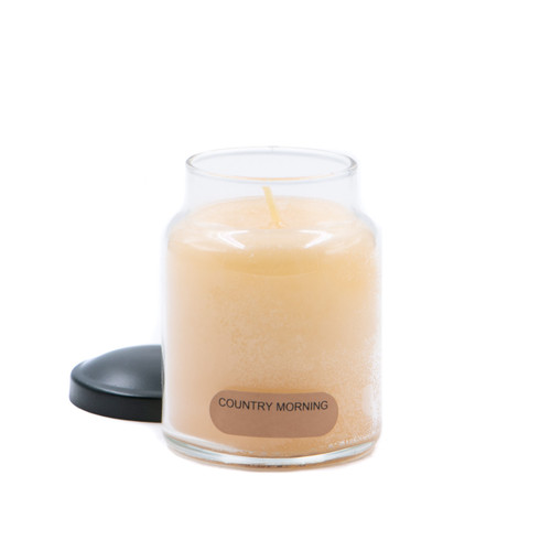Country Morning 6 oz. Baby Jar Keepers of the Light Candle by A Cheerful Giver