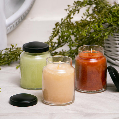 Juicy Apple 6 oz. Baby Jar Keepers of the Light Candle by A Cheerful Giver