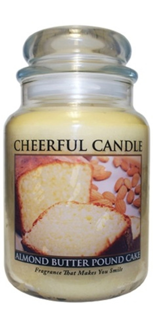Almond Butter Pound Cake 24 oz. Cheerful Candle by A Cheerful Giver