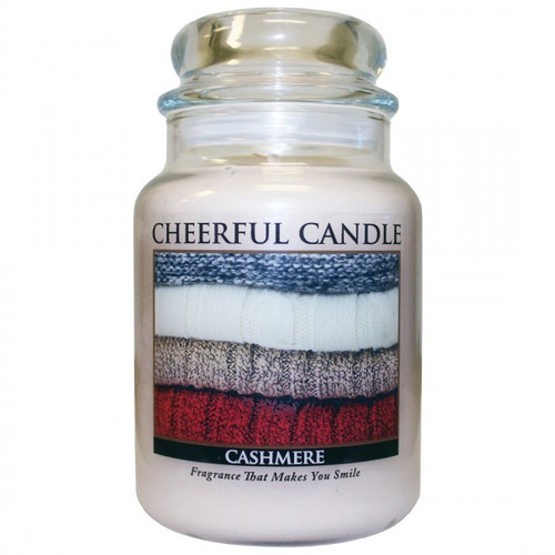 Cashmere 24 oz. Cheerful Candle by A Cheerful Giver