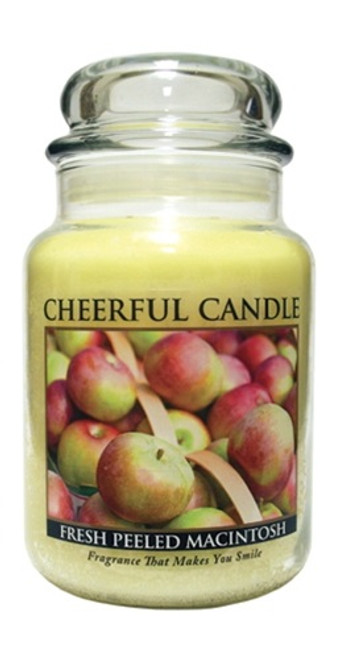 Fresh Peeled Macintosh 24 oz. Cheerful Candle by A Cheerful Giver