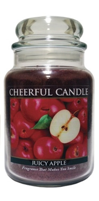 Juicy Apple 24 oz. Cheerful Candle by A Cheerful Giver