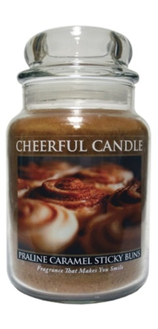 Praline Caramel Sticky Buns 24 oz. Cheerful Candle by A Cheerful Giver