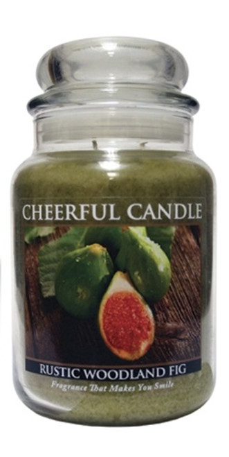 Rustic Woodland Fig 24 oz. Cheerful Candle by A Cheerful Giver