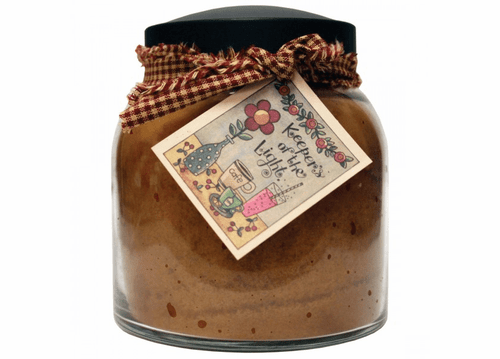 Butter Maple Toddy 34 oz. Papa Jar Keeper's of the Light Candle by A Cheerful Giver