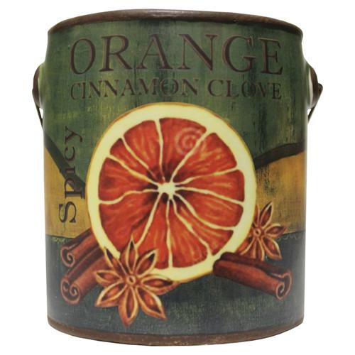 Orange Cinnamon Clove 20 oz. Farm Fresh Collection Candle by A Cheerful Giver