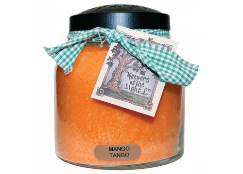 Mango Tango 34 oz. Papa Jar Keepers of the Light Candle by A Cheerful Giver