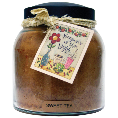 Sweet Tea 34 oz. Papa Jar Keeper's of the Light Candle by A Cheerful Giver