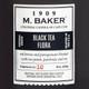 Black Tea Flora 8 oz. M. Baker Small Jar Colonial Candle