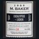 Eucalyptus & Lichen 8 oz. M. Baker Small Jar Colonial Candle