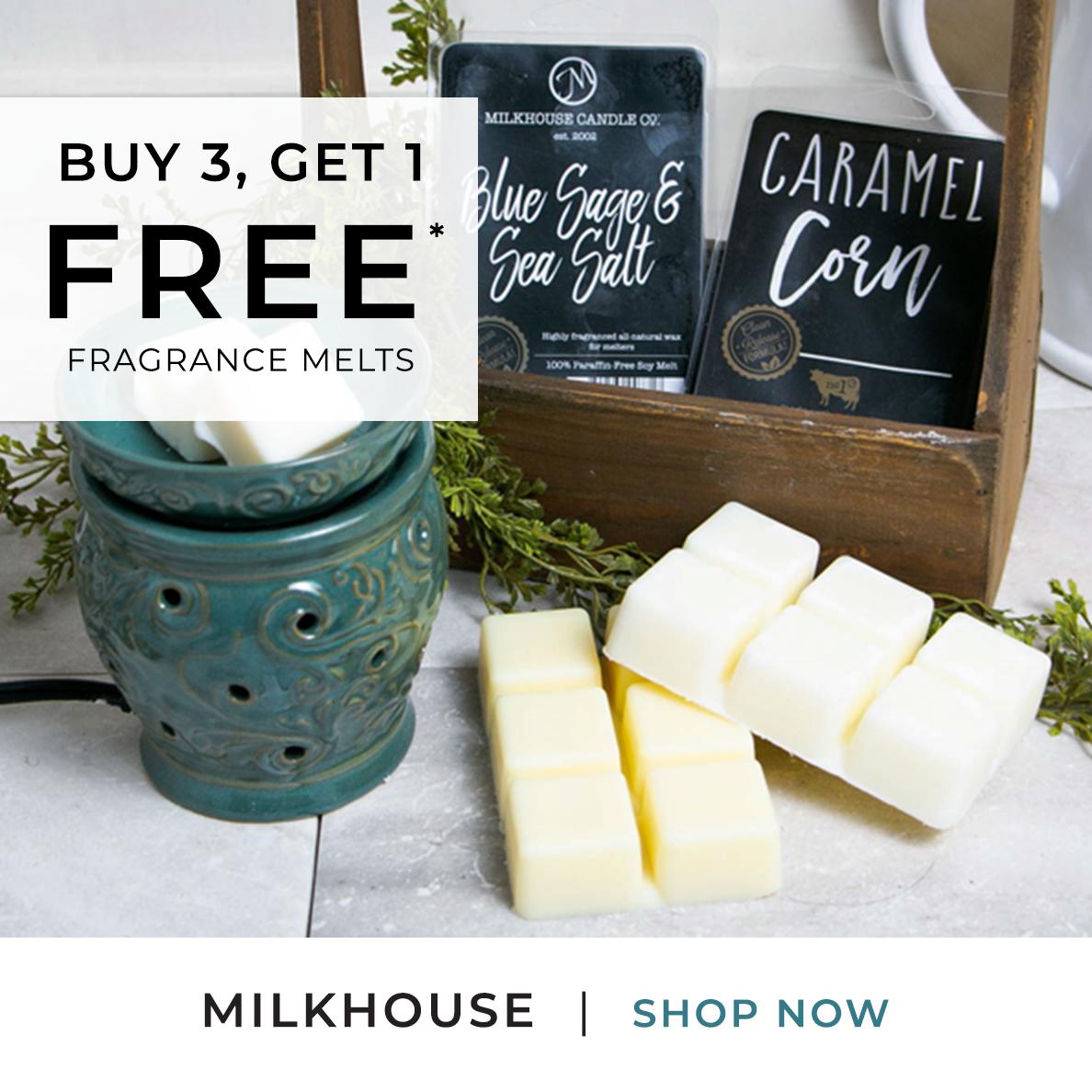 Milkhouse - Fragrance Melts - Buy 3 Get 1 FREE