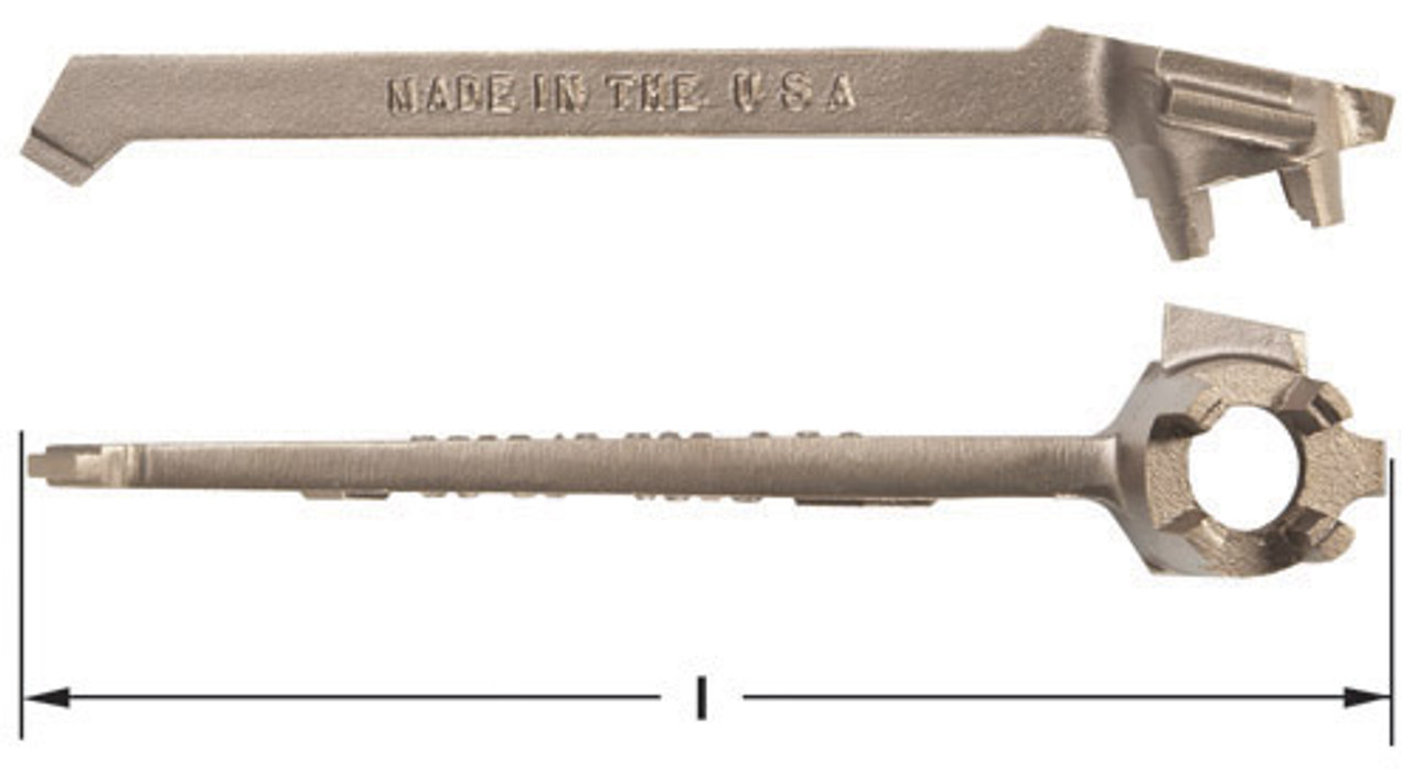 """AMPCO W661-3//4/"""" Combination Wrench Non-Sparking"""